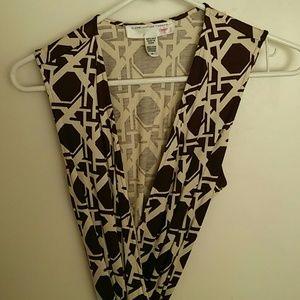 Diane Von Furstenberg Vintage sleeveless dress